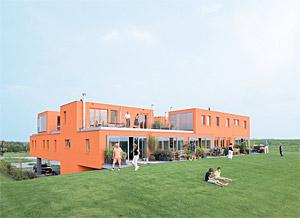 Villa van Vijven :: Dutch communal living space..